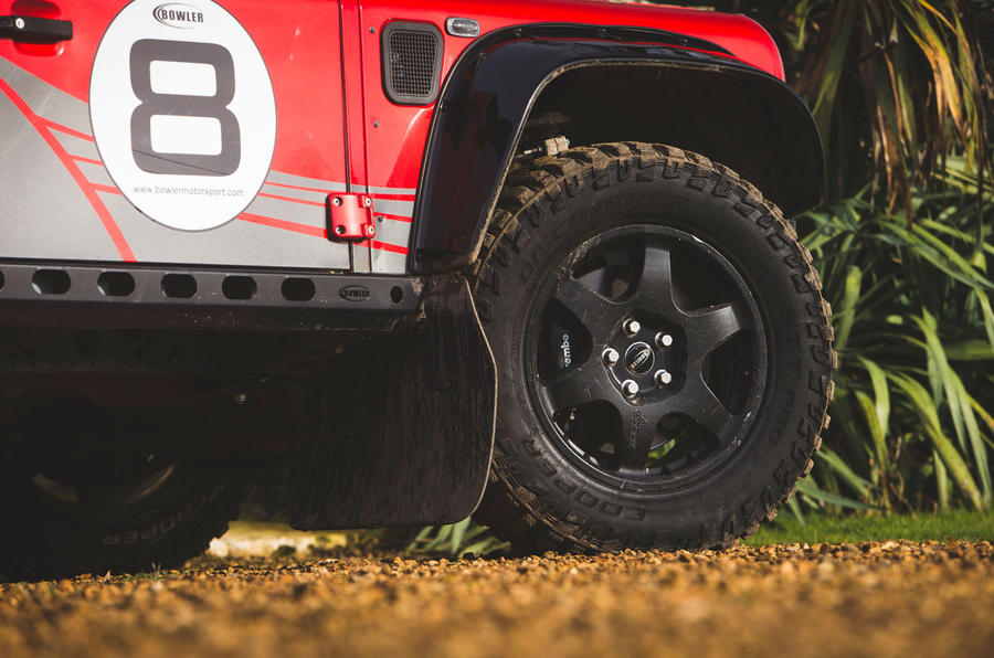 Bowler Bulldog V8 SC 2019 first drive review - alloy wheels