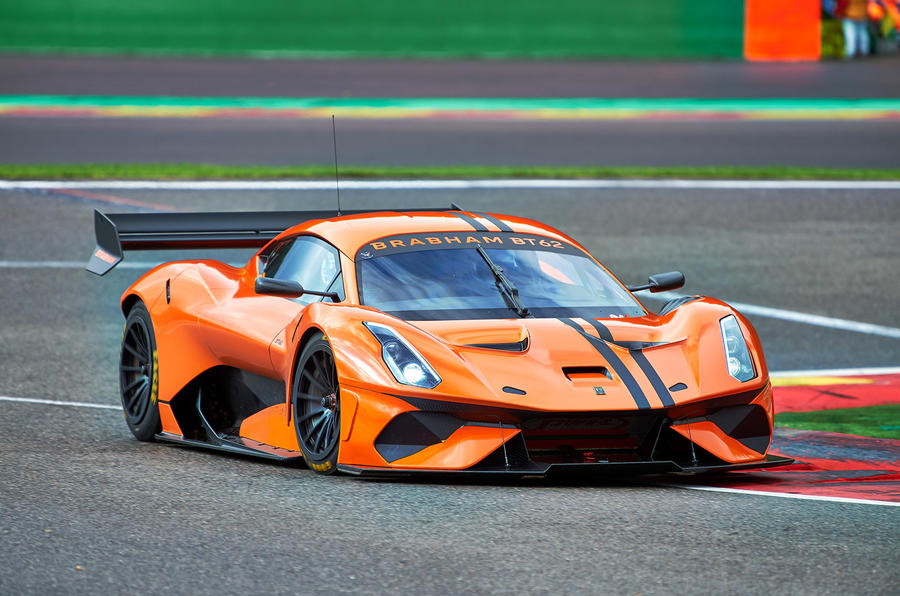 Brabham BT62 Competition Specification - hero front