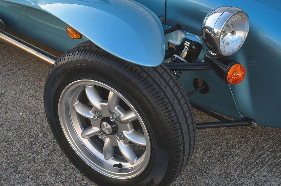 Caterham Super Seven 1600 2020 UK first drive review - alloy wheels