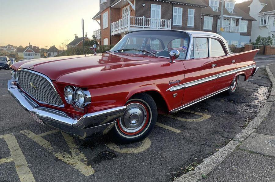 Chrysler Saratoga - static front