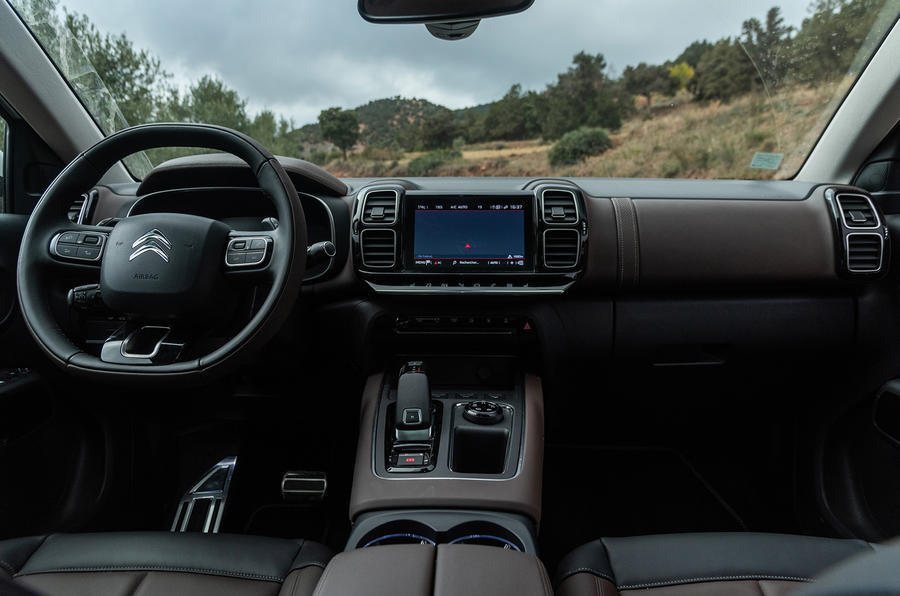 Citroen C5 Aircross 2018 first drive review - interior trim