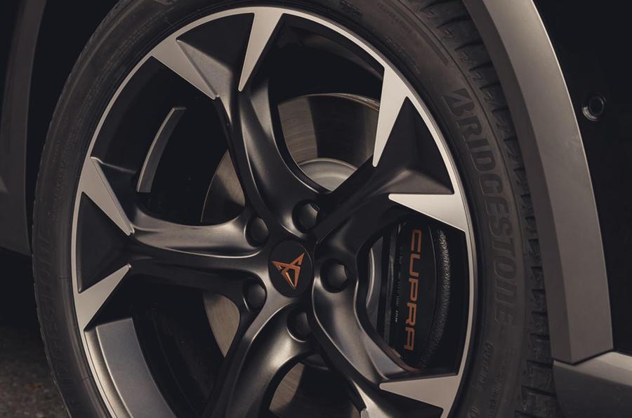 5 Cupra Formentor VZ2 2021 : premiers étriers de frein à disque au Royaume-Uni