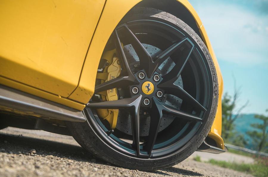 Ferrari 488 Pista Spider 2019 first drive review - alloy wheels