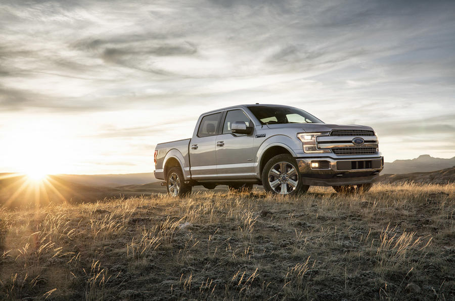 Ford F-150 - static front