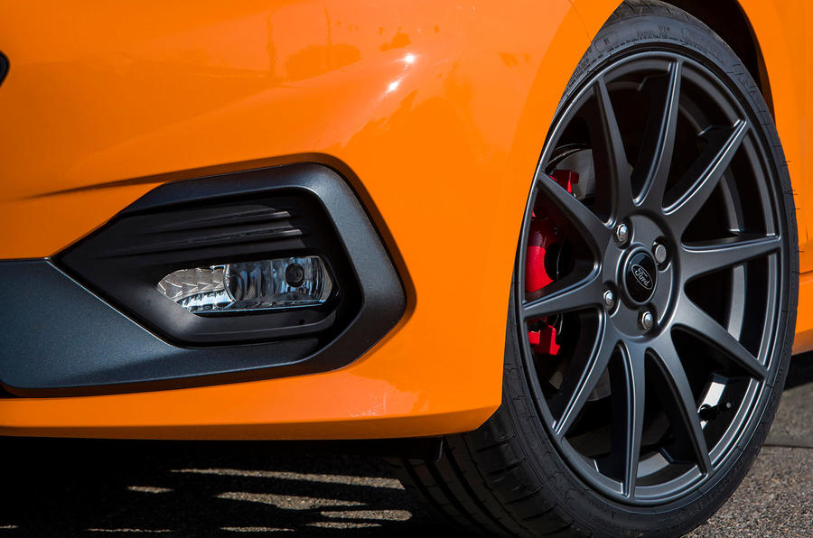Ford Fiesta ST Performance 2019 first drive review - alloy wheels