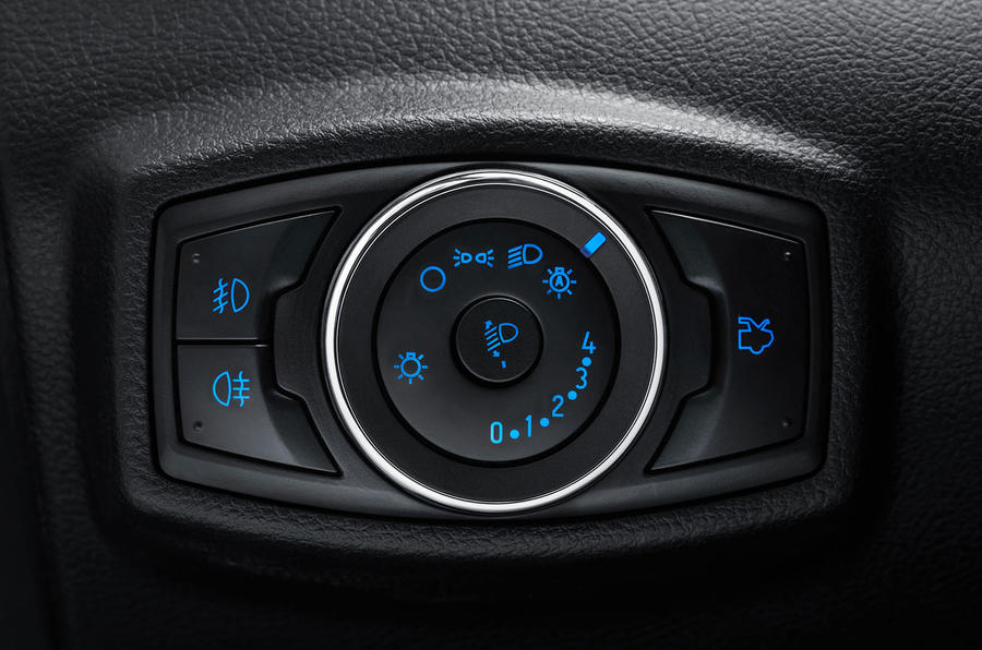 Ford Ka+ Active 2018 first drive review light controls