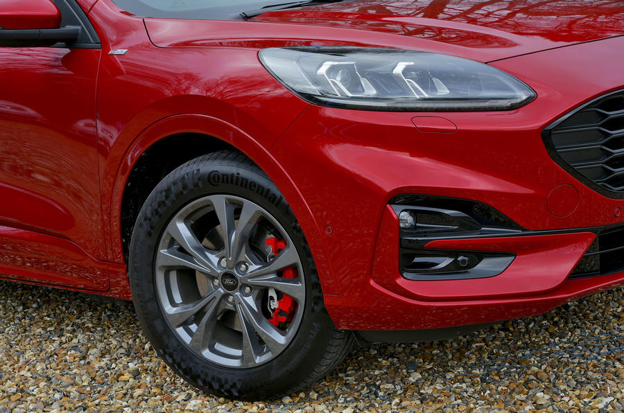 Ford Kuga ST-Line PHEV 2020 UK first drive review - alloy wheels