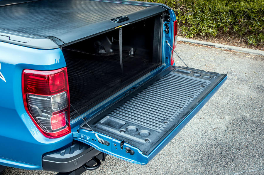 Ford Ranger Raptor 2019 first drive review - tailgate