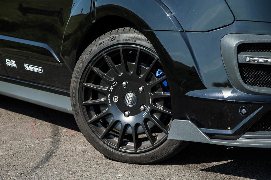 Ford Transit MS-RT custom review alloys