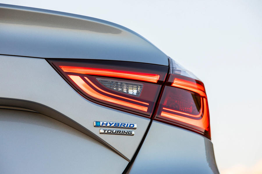 Honda Insight 2019 first drive review - rear lights