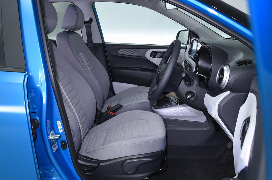 Hyundai i10 2020 UK first drive review - cabin