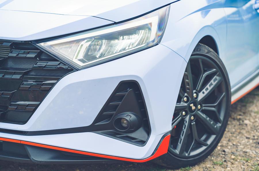 5 Pare-chocs avant Hyundai i20N 2021 RHD UE FD