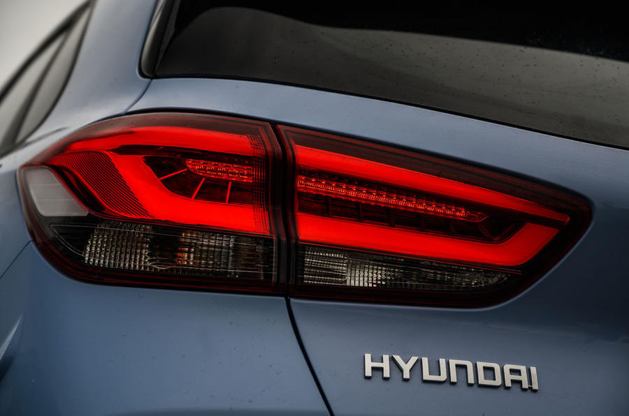 Hyundai i30 N 2020 UK first drive review - rear lights