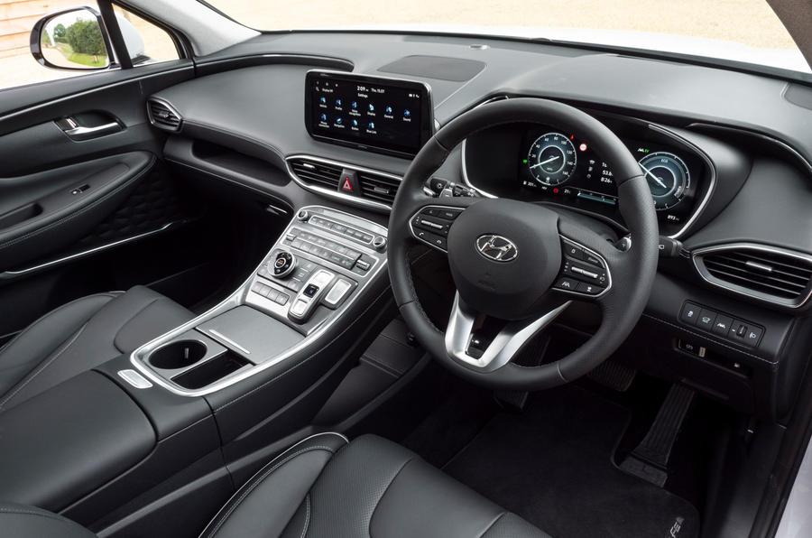 5 Tableau de bord du Hyundai Santa Fe PHEV 2021 UE FD