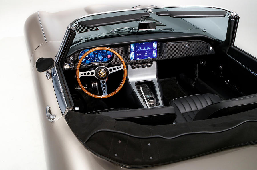Jaguar E-Type Zero concept - cabin