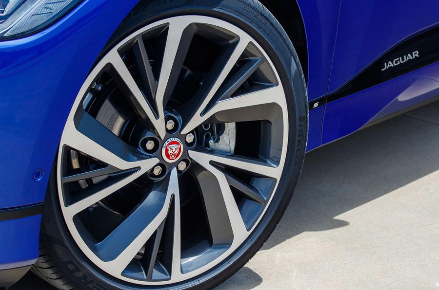 Jaguar I-Pace 2018 review alloy wheels