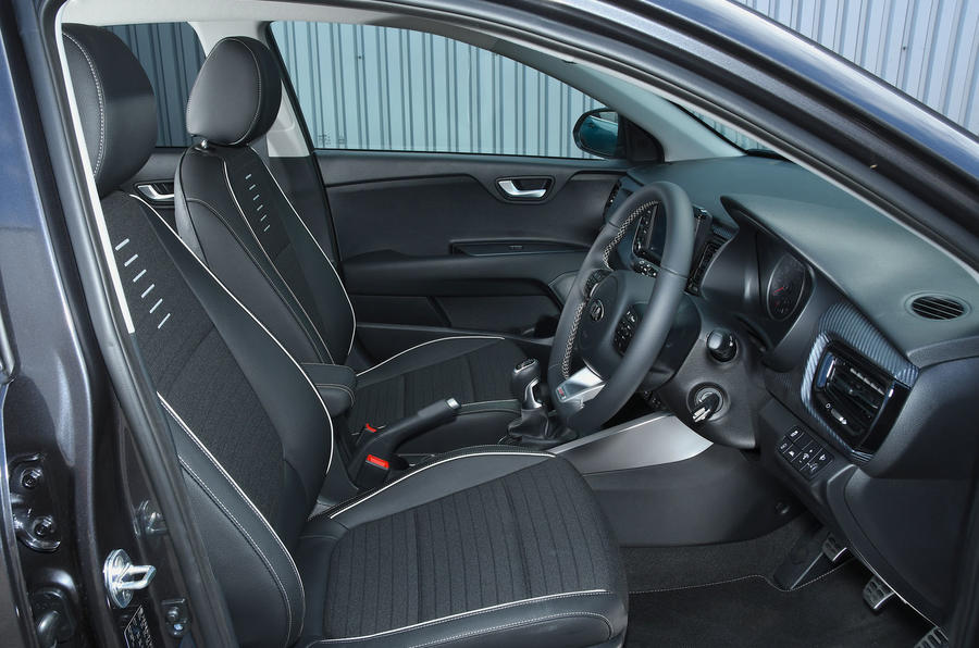 Kia Rio GT Line 2018 UK first drive review cabin