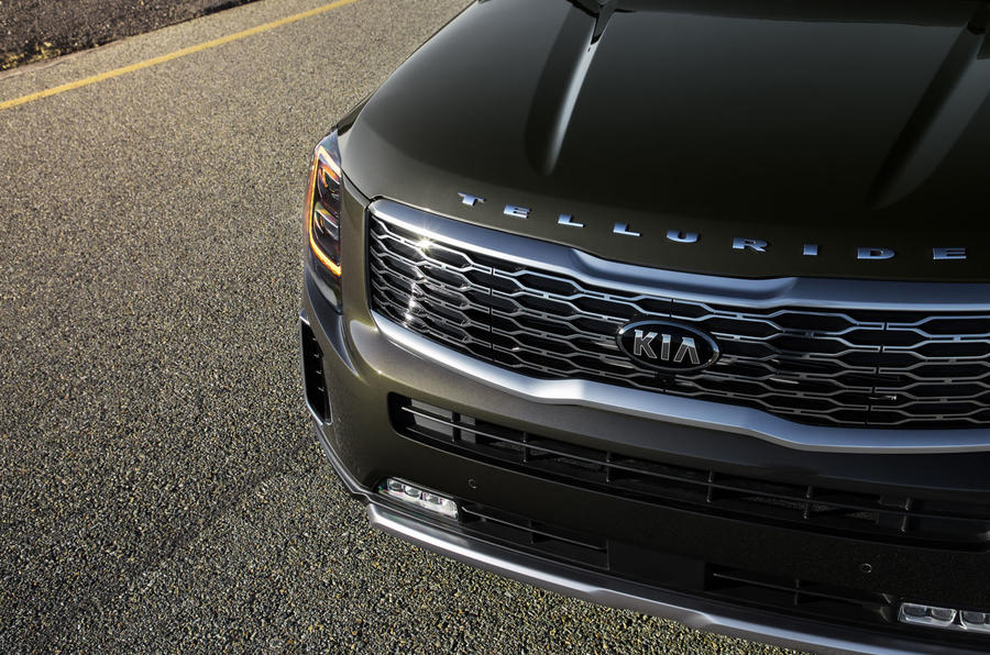 Kia Telluride 2019 first drive review - front bumper