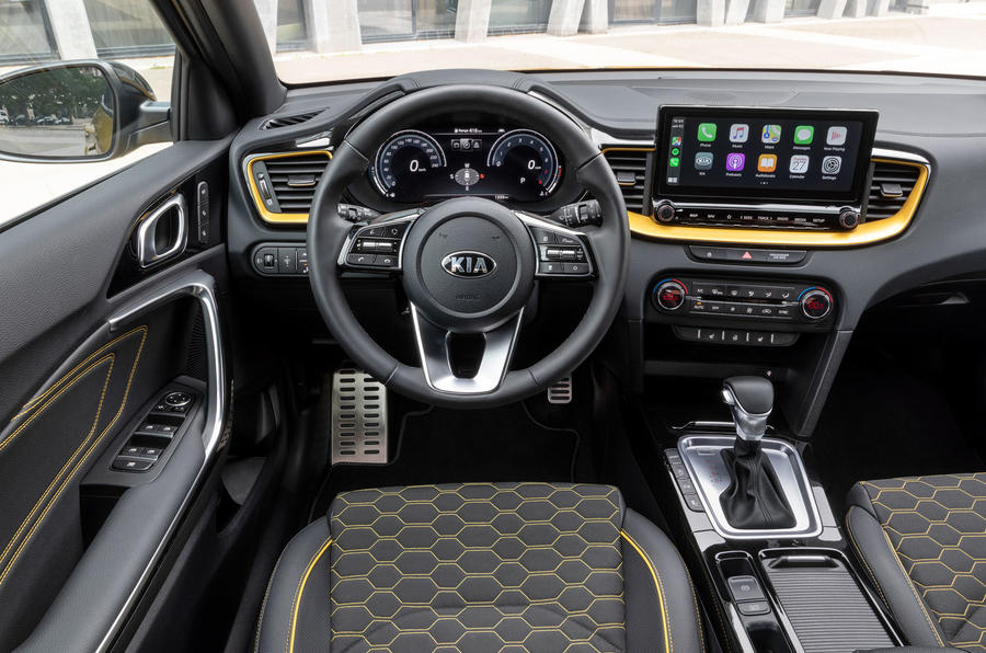 Kia Xceed 2019 first drive review - dashboard