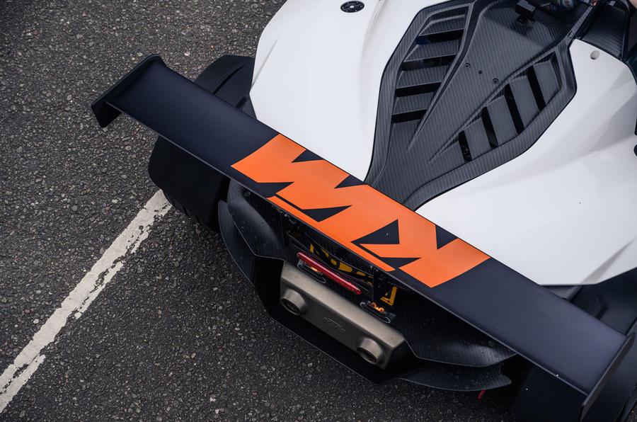 KTM Xbow Darkside developments demonstrator - rear