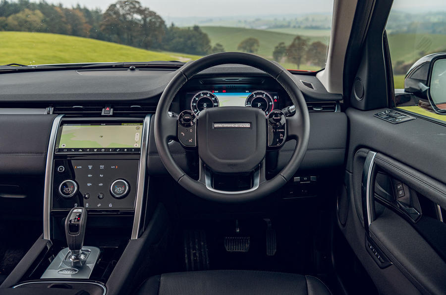 Land Rover Discovery Sport 2019 UK first drive review - dashboard