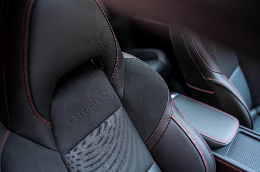 Lynk & Co prototype seats