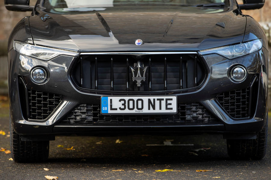 Maserati Levante GranSport V6 2018 first drive - nose