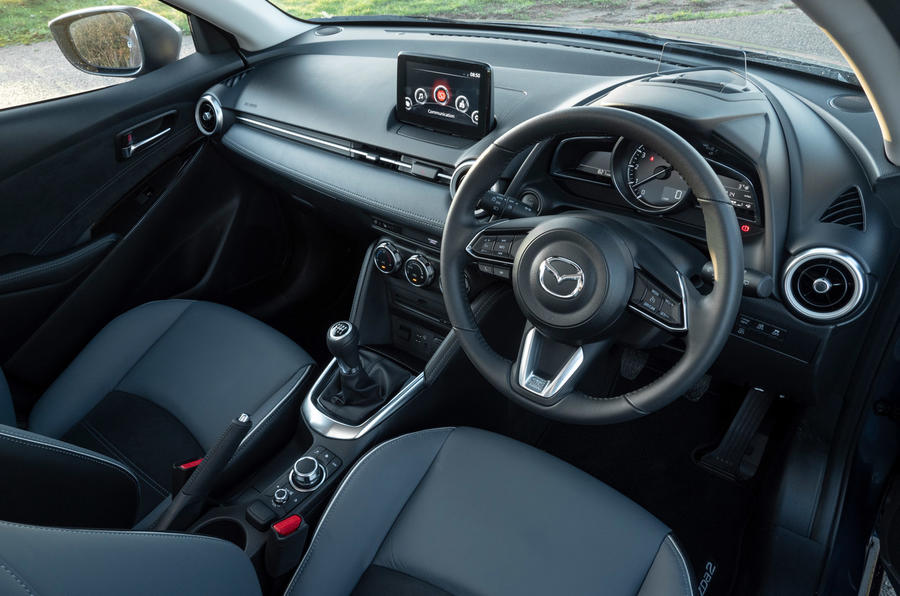 Mazda 2 Sport Nav 2020 UK first drive review - cabin