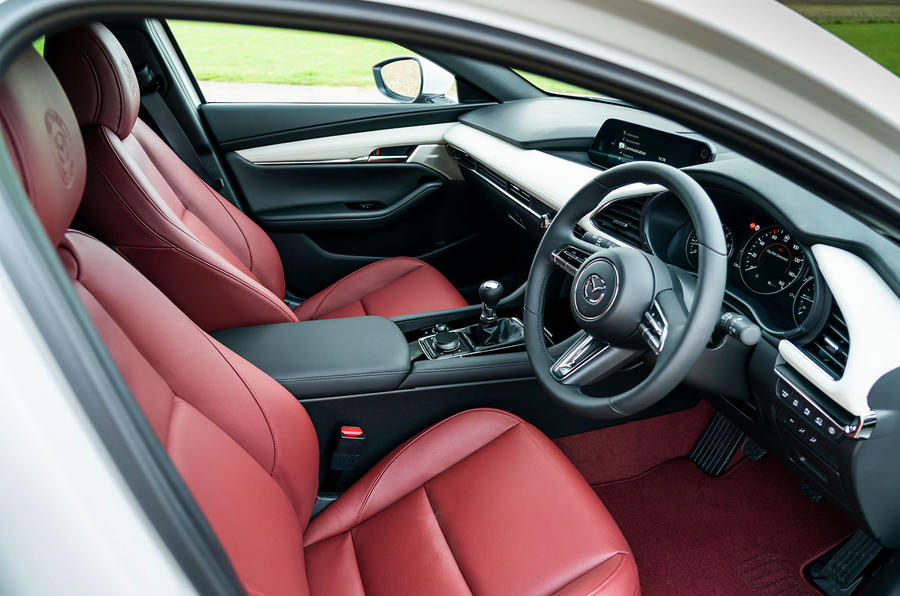 Mazda 3 100th Anniversary edition 2020 UK first drive review - cabin