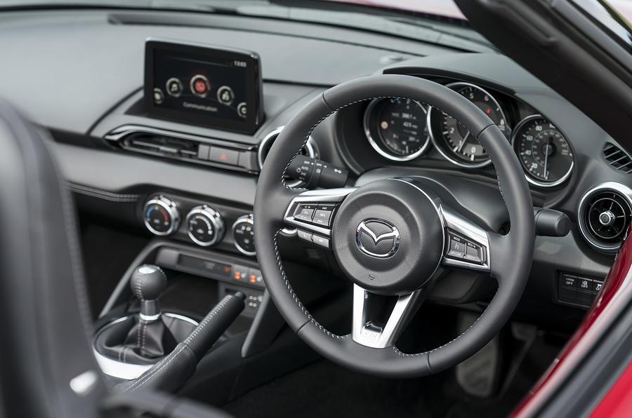 Autocar writers car of 2020 - Mazda MX 5 dashboard