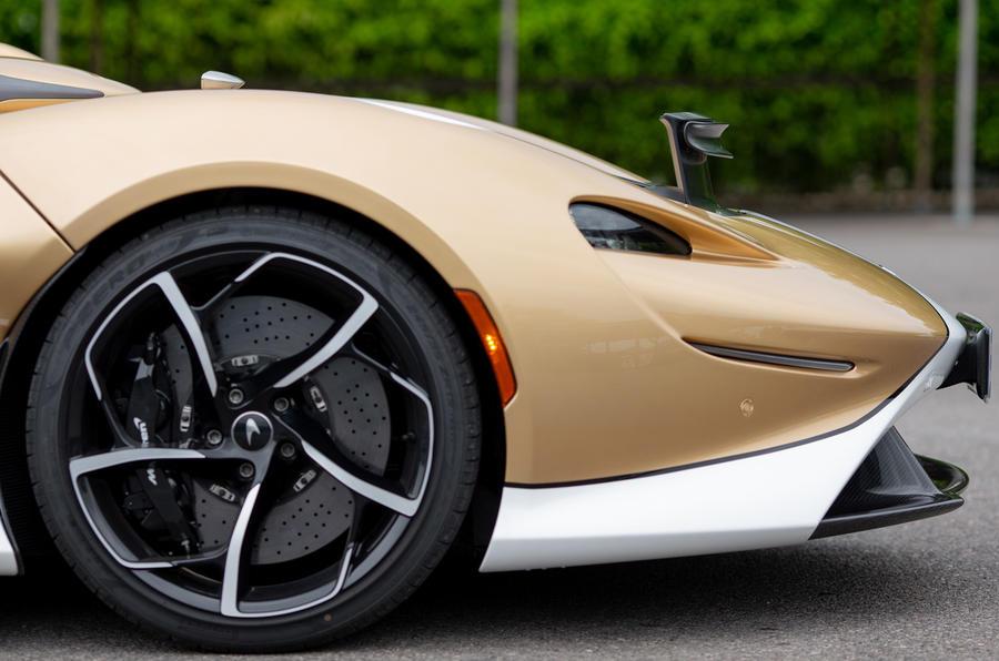 5 McLaren Elva 2021 UE FD roues en alliage