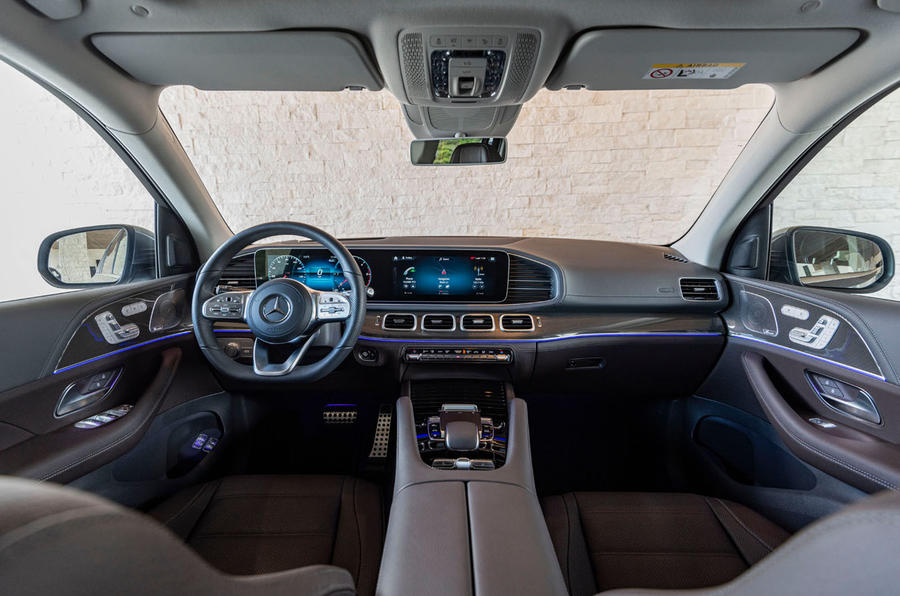 Mercedes-Benz GLS 400D 2019 first drive review - dashboard