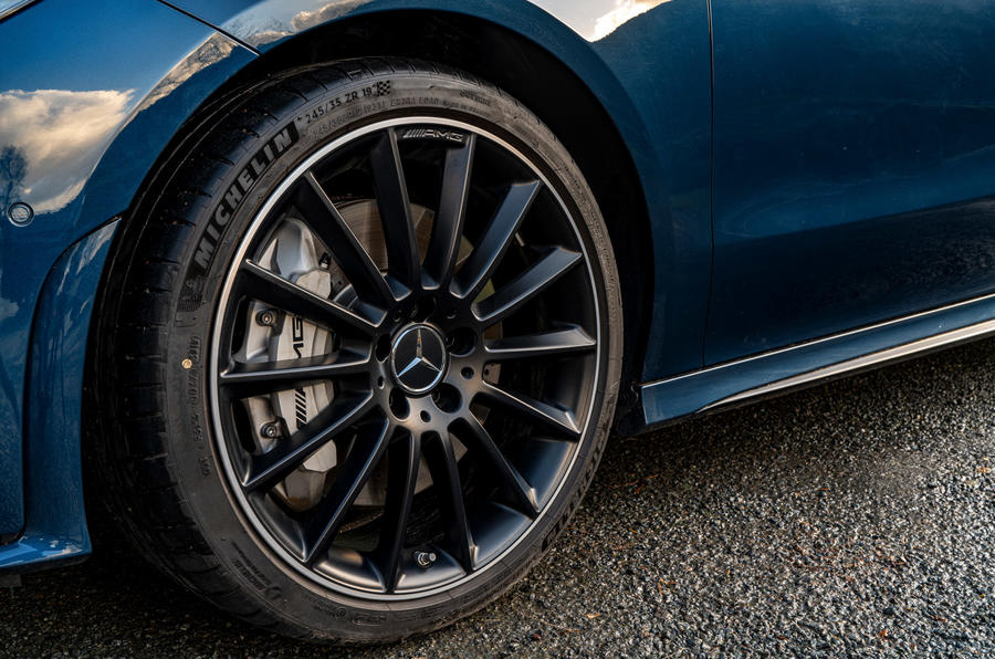 Mercedes-AMG CLA35 2020 UK first drive review - alloy wheels