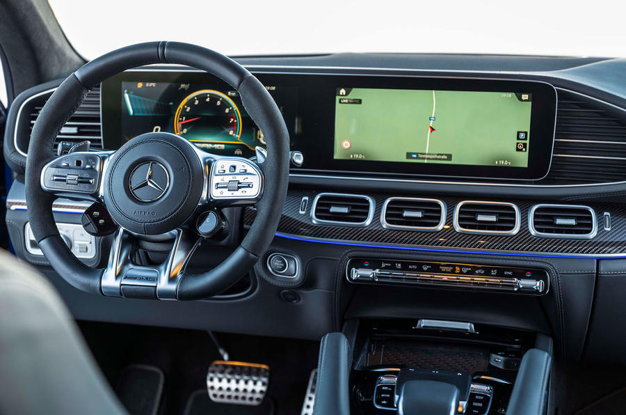 Mercedes-AMG GLE 53 2020 first drive review - dashboard