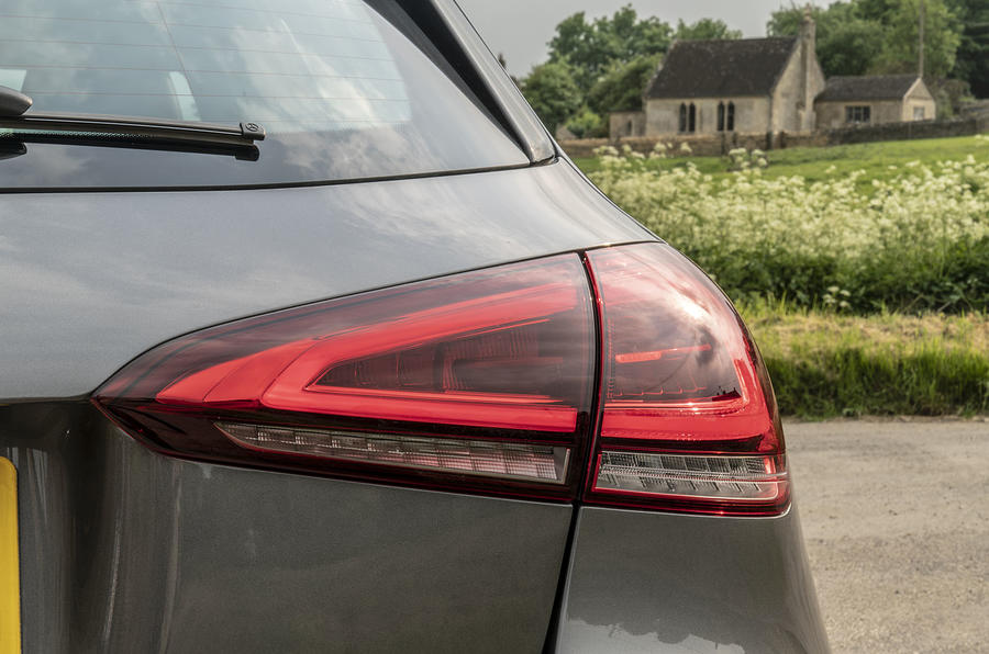 Mercedes-Benz A-Class A180 SE 2019 first drive review - rear lights