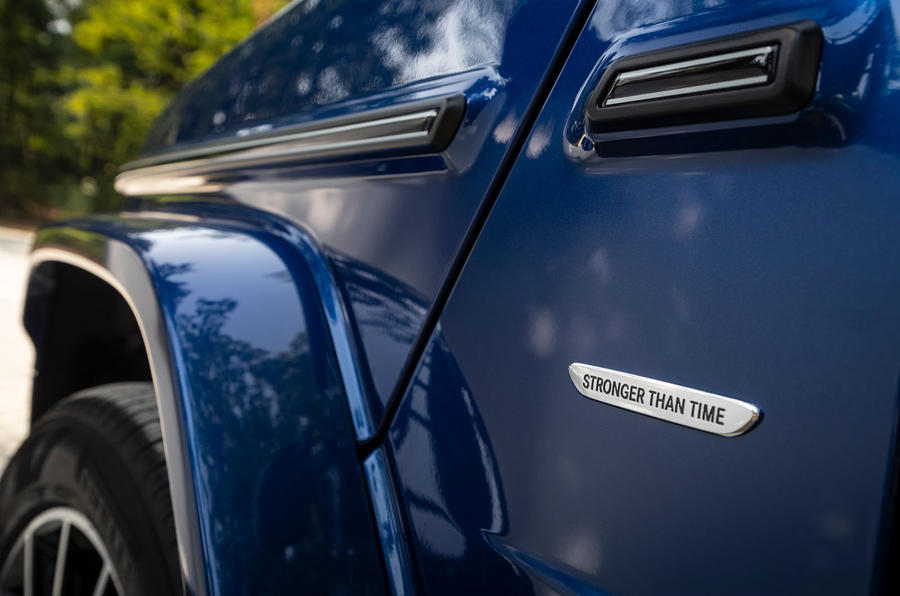 Mercedes-Benz G400d 2019 first drive review - wheel arches