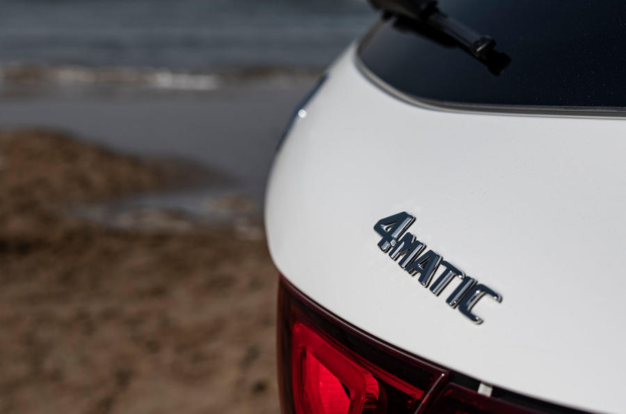 Mercedes-Benz GLA 2020 UK first drive review - rear badge