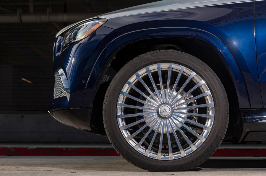 Mercedes-Maybach GLS 600 2020 first drive review - alloy wheels