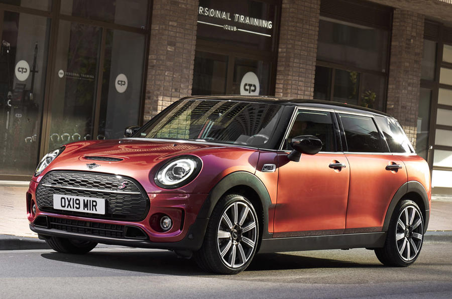 Mini Clubman - hero front