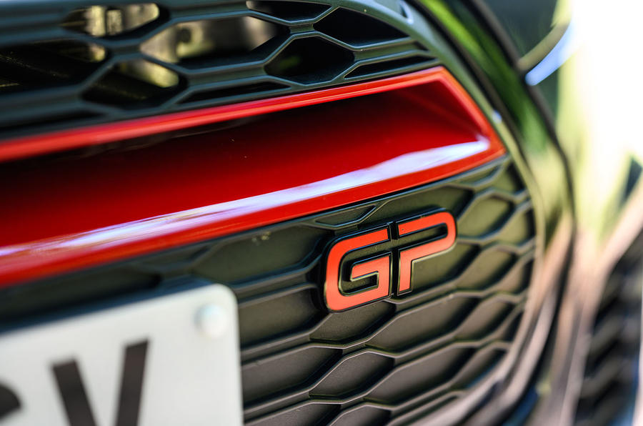 Mini JCW GP 2020 UK first drive review - front badge