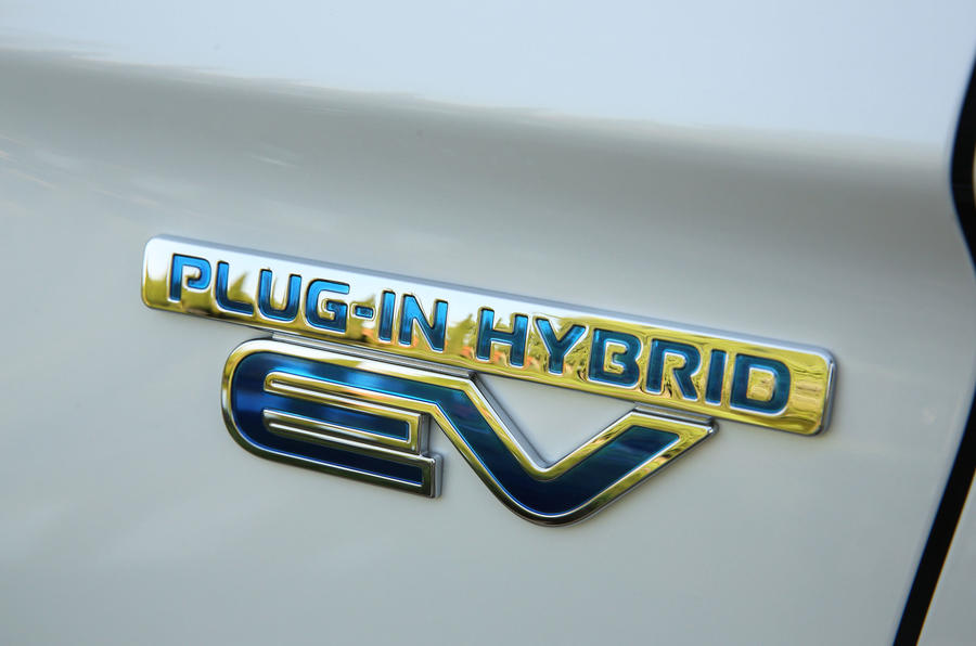 Mitsubishi Outlander PHEV 2018 first drive review badge