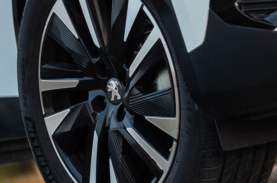 Peugeot e-2008 2020 first drive review - alloy wheels