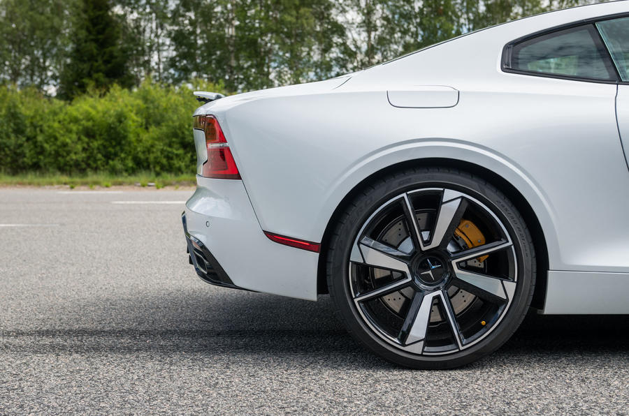 Polestar 1 2019 first drive review - alloy wheels