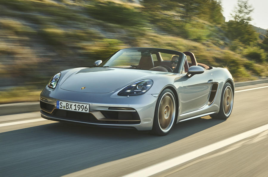 Limited edition Porsche Boxster 25 launched