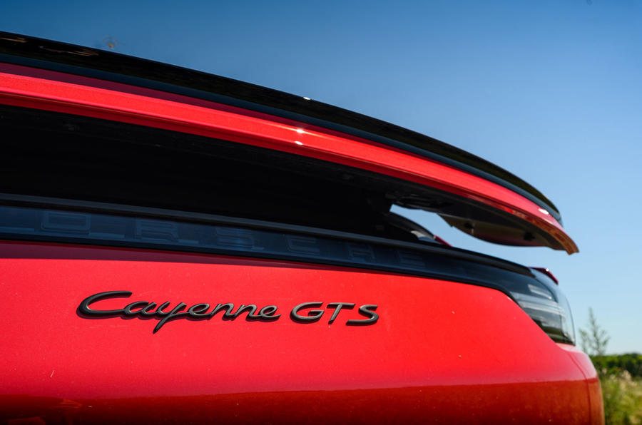 Porsche Cayenne GTS 2020 UK first drive review - spoiler