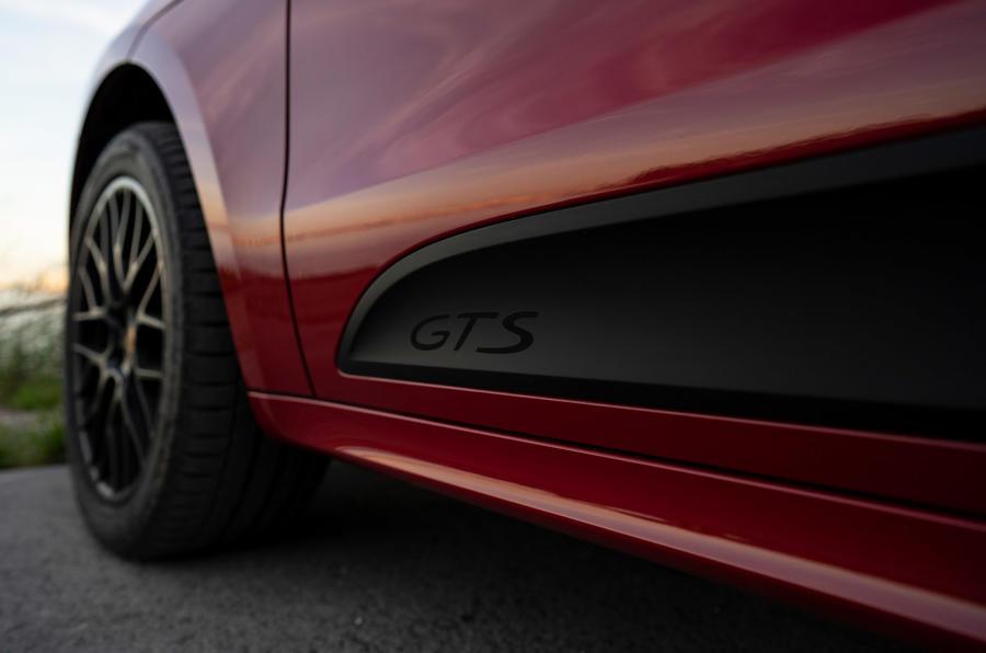 Porsche Macan GTS 2020 first drive review - side details