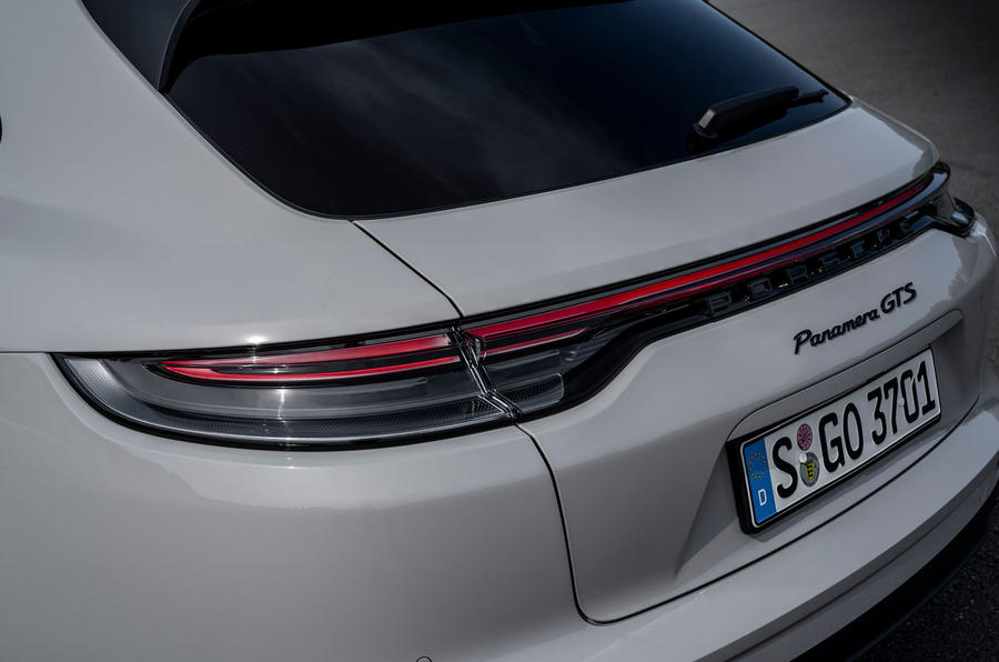 Porsche Panamera GTS Sport Turismo 2020 first drive review - rear lights
