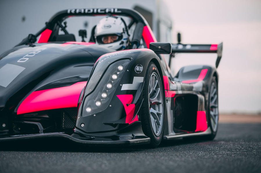 Radical SR10 2020 UK first drive review - headlights