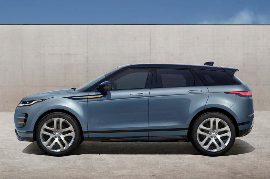 Range Rover Evoque 2019 official reveal - onroad side