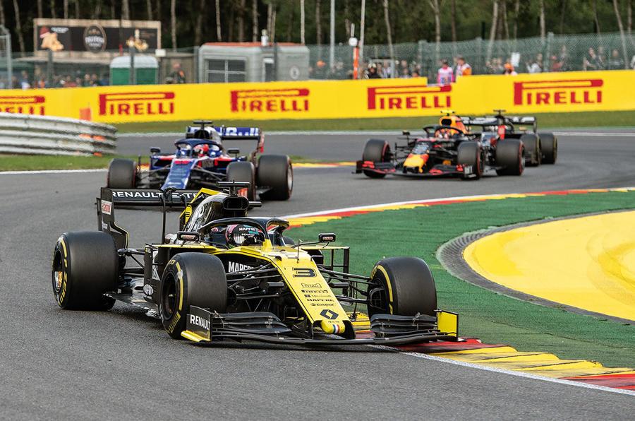 Renault Daniel Ricciardo - hero front